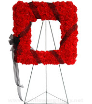 red-carnation-square-wreath