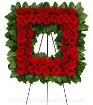 funeral-wreath-red-roses
