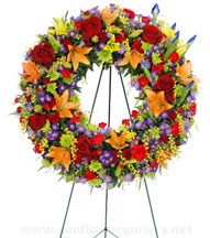 funeral-colorful-wreath
